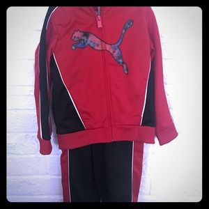 Boys jacket and pants set